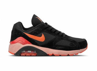 Nike Air Max 180 Black Team Orange Black Team Orange AV3734 001