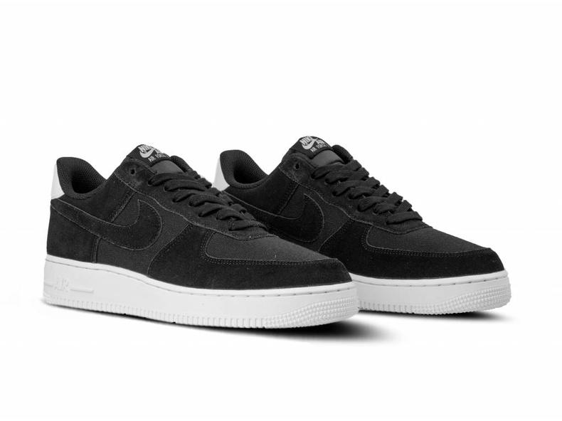 new arrival d3fd3 fb724 Air Force 1  07 Suede Black Black Sail AO3835 001