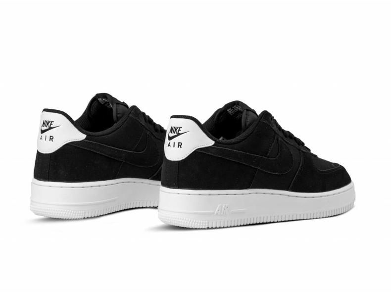 new arrival a9791 769a3 Air Force 1  07 Suede Black Black Sail AO3835 001