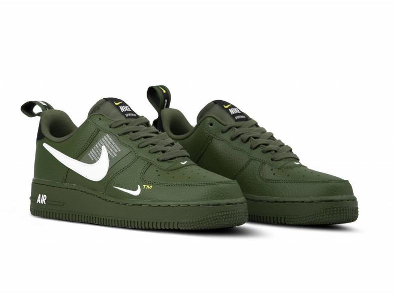 nike air force 1 leger groen