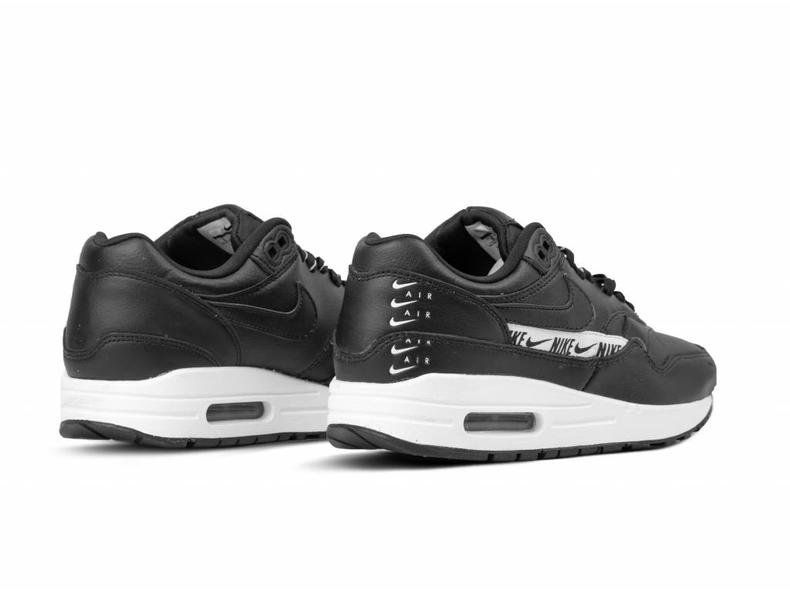 reputable site 0092e 2979e WMNS Air Max 1 SE Black Black White 881101 005