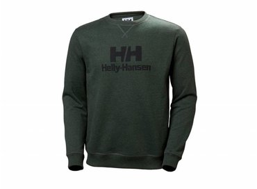 Helly Hansen Crew Sweater Mountain Green Melange 53155 454