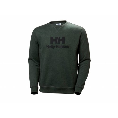 Crew Sweater Mountain Green Melange 53155 454