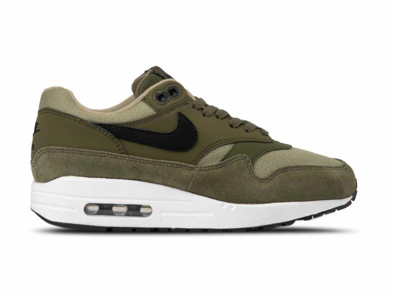 timeless design 88b6a 603be WMNS Air Max 1 Olive Canvas Black 319986 304