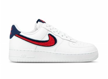 Nike Air Force 1 '07 LV8  White University Red Blue Void 823511 106