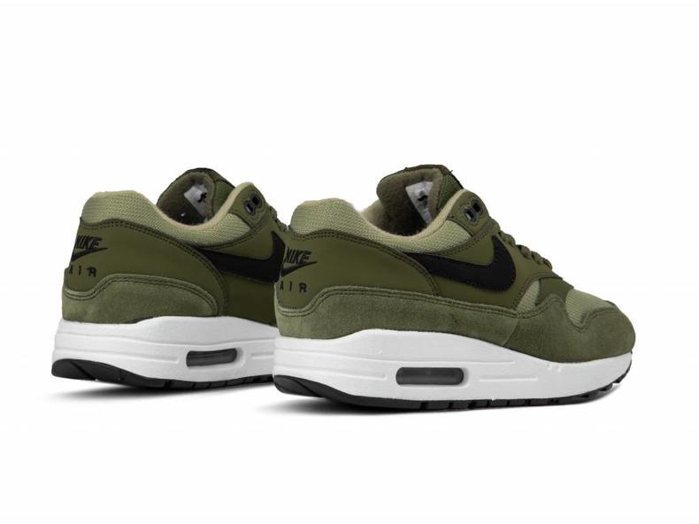 47d9aea9accb09 Nike WMNS Air Max 1 Olive Canvas Black 319986 304