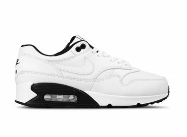 Nike Air Max 90 1 White White Black Black AJ7695 106
