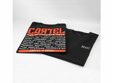 Bruut x Cartel Tee Black