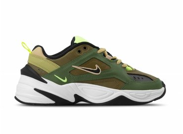Nike W M2K Tekno Medium Olive Black Yukon Brown AO3108 201