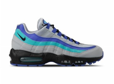 Nike Air Max 95 OG Wolf Grey Black Indigo Burst AT2865 001