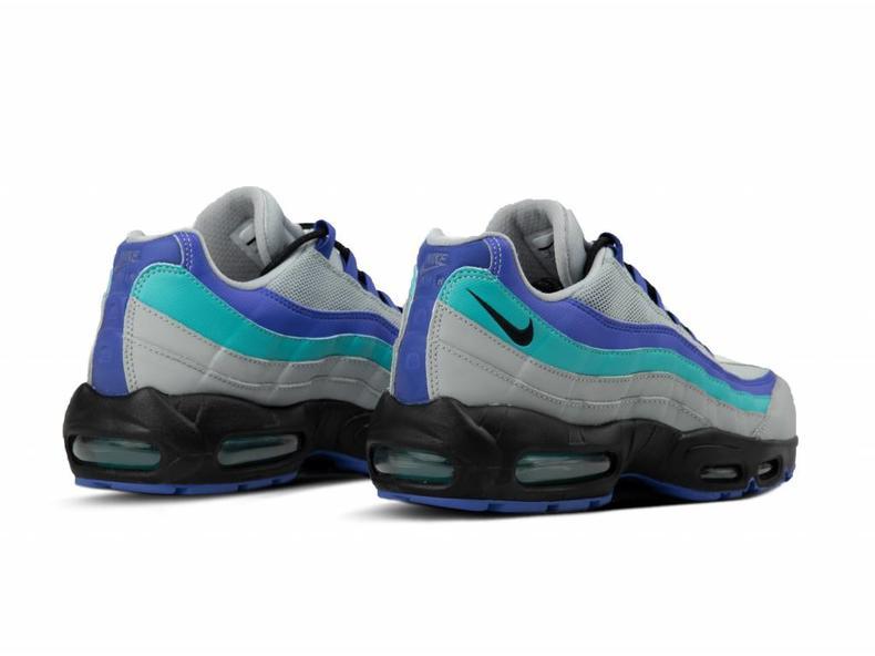 63981fa878f3a Nike Air Max 95 OG Wolf Grey Black Indigo Burst AT2865 001 | Bruut ...