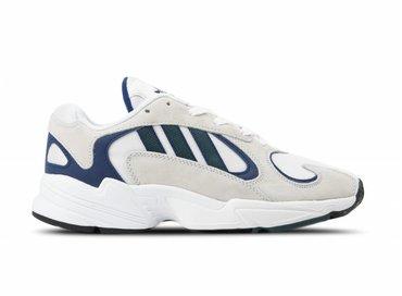 Adidas Yung 1 White Nobel Green Dark Blue G27031