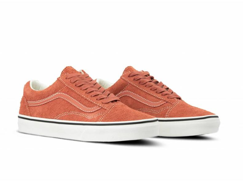 fe958e19a03 Vans Old Skool Hairy Suede  br    Hot Sauce VN0A38G1UNG1