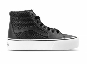 Vans SK8 Hi Platform 2  Leather Snake Black VN0A3TKNUQF1