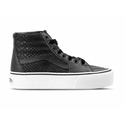 SK8 Hi Platform 2  Leather Snake Black VN0A3TKNUQF1