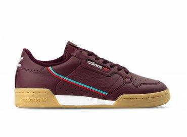 Adidas Continental 80 Maroon Scarlet Hi Res Aqua B41677