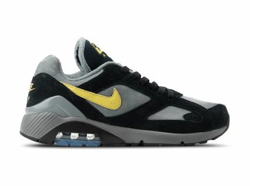 Nike Air Max 180 Cool Grey Wheat Gold Black AV7023 001