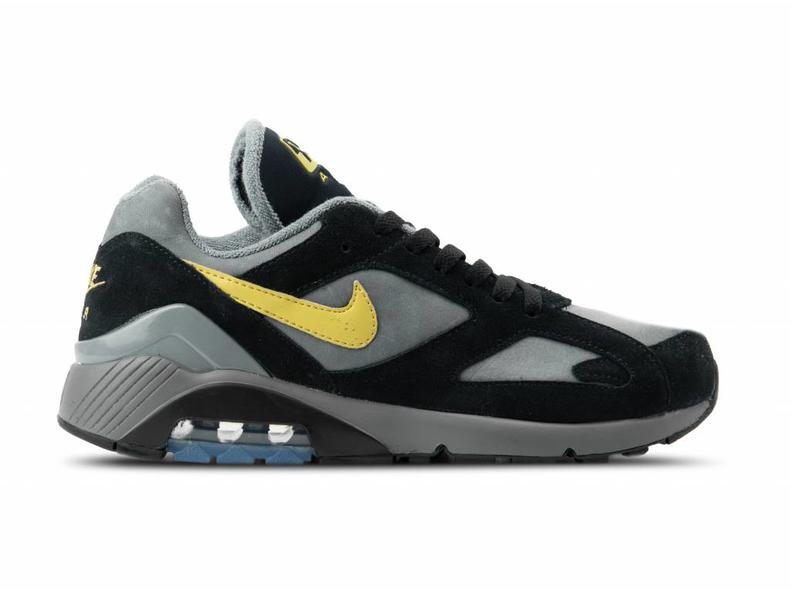 9f16bf4e7cb Nike Air Max 180 Cool Grey Wheat Gold Black AV7023 001