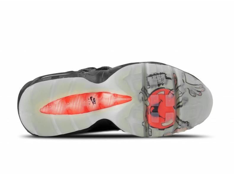 c1de0c61b6e493 Nike Air Max 95 Black Infrared AV7014 001