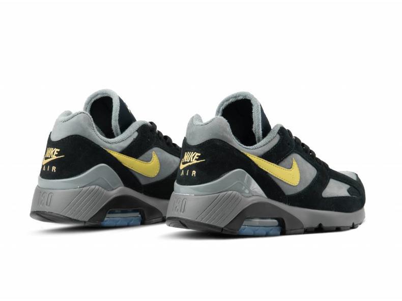 426427fdb8f3 Nike Air Max 180 Cool Grey Wheat Gold Black AV7023 001