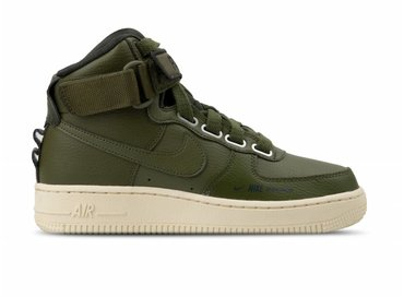 a2a8933944a Nike W Air Force 1 Hi Utility Olive Canvas Olive Canvas AJ7311 300