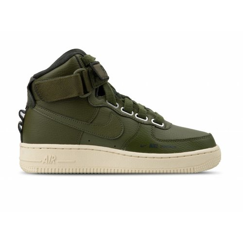 W Air Force 1 Hi Utility Olive Canvas Olive Canvas AJ7311 300