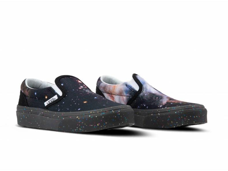 Classic Slip On Space Voyager Galaxy Black VN0A32QIUJ51