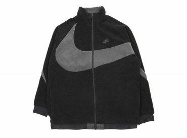 Nike NSW Reverse Swoosh Fullzip Jacket Black Anthracite AJ2701 011
