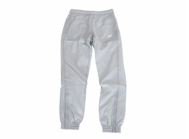 Nike Swoosh Woven Pant Wolf Grey White Light Bone AJ2300 012