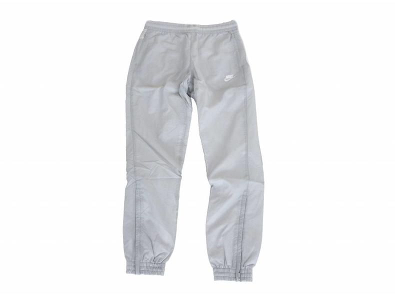 Swoosh Woven Pant Wolf Grey White Light Bone AJ2300 012
