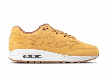 Nike Air Max 1 Premium Wheat Wheat Light Bone 875844 701
