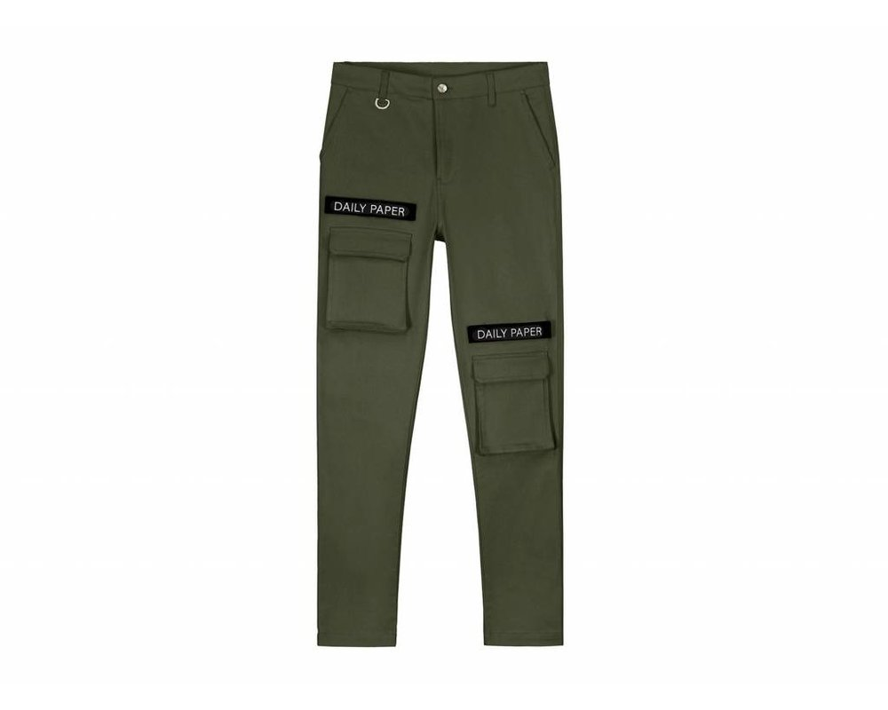 Daily Paper Cargo Pants  Olive Green 18S1PA15 1