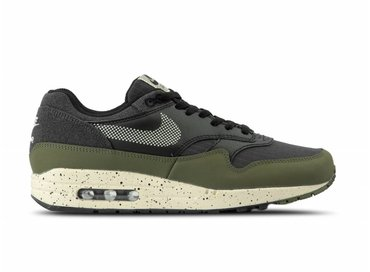 Nike Air Max 1 SE Medium Olive Light Cream Black AO1021 200