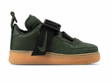 Nike Air Force 1 Utility Sequoia Black Gum Med Brown AO1531 300