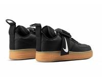 Nike Air Force 1 Utility Black White Gum Med Brown AO1531 002