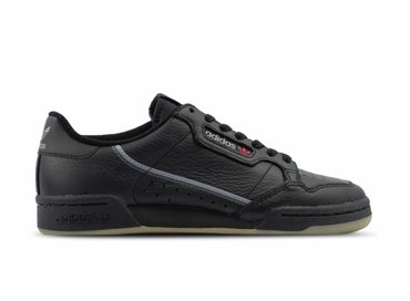 Adidas Continental 80  Core Black Grey Three Gum3 BD7797