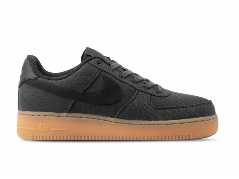 644e1e4b508e Nike Air Force 1  07 LV8 Style Black Black Gum Med Brown AQ0117 002 ...