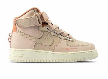 Nike W Air Force 1 Hi Utility  Particle Beige Particle Beige AJ7311 200