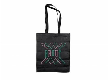 Daily Paper - Bruut Team Up Totebag Black Mint Pink 00S1TS08 06