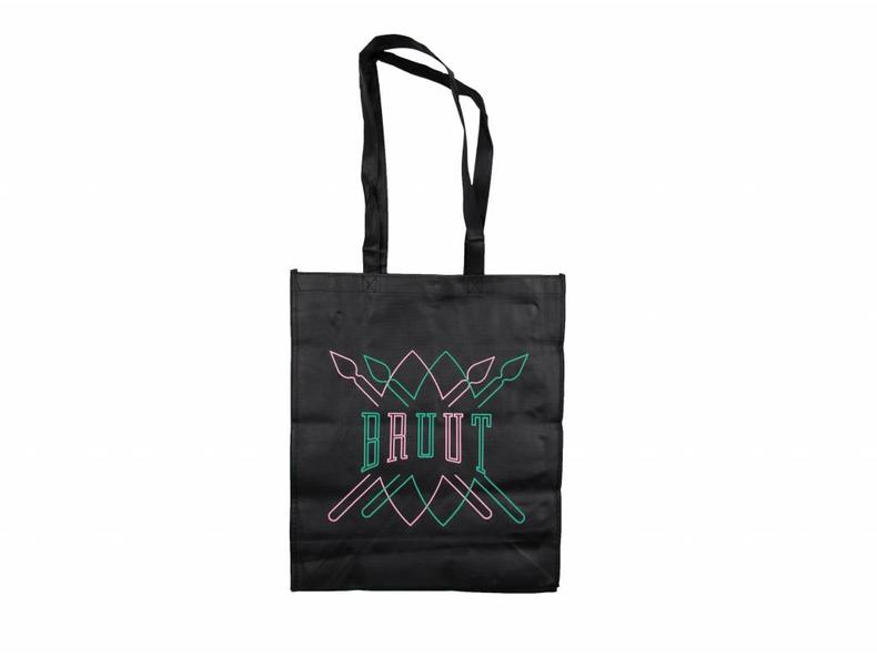 - Bruut Team Up Totebag Black Mint Pink 00S1TS08 06