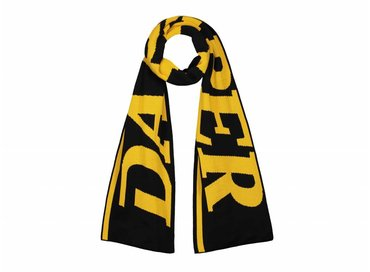 Daily Paper Merino Wool Scarf Yellow Black 18F1AC21 03