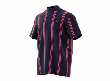 Adidas Stand Collar Tee Night Indigo DU7847