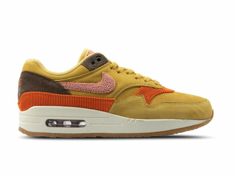wholesale dealer f454d 786b5 Air Max 1 Wheat Gold Rust Pink Baroque Brown CD7861 700
