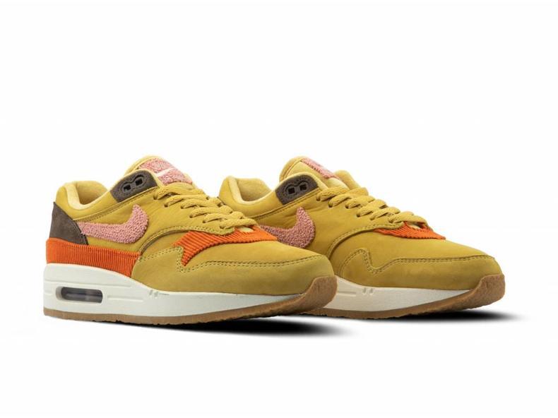e395ffff5a Nike Air Max 1 Wheat Gold Rust Pink Baroque Brown CD7861 700 | Bruut ...