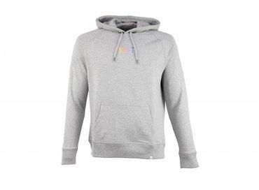 Bruut Ichiban Basic Hoodie Grey Rainbow HFD311
