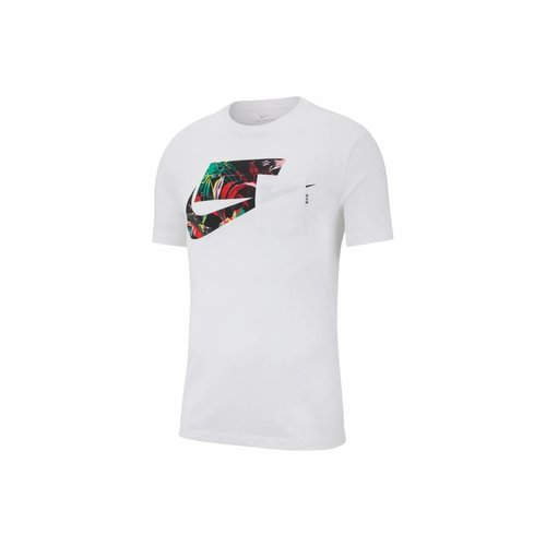 Sportswear NSW Tee White Multi Color AV4913 101
