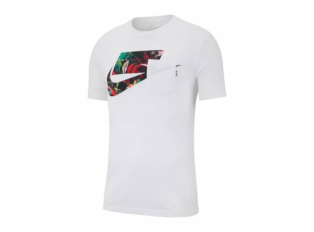 Sportswear NSW Tee White Multi Color AV4913 101