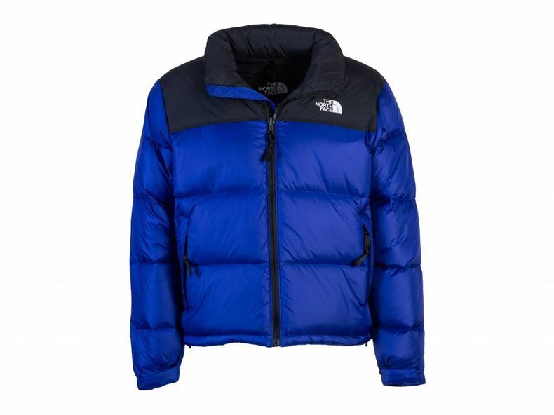 9ae8d1d4d Womens 1996 Retro Nuptse Jacket Aztec Blue T93JQR5NX