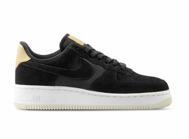Nike WMNS Air Force 1 '07 PRM Black Black Summit White 896185 006