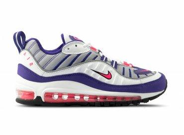 9d062e188664 Nike W Air Max 98 White Racer Pink AH6799 110